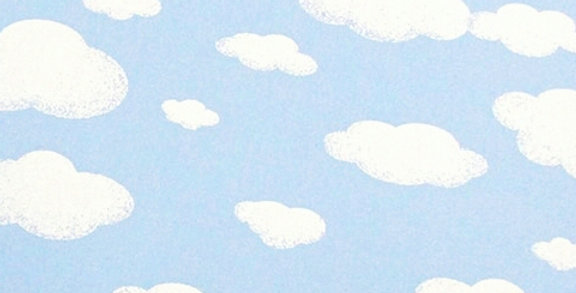 Lençol - Nuvem Azul