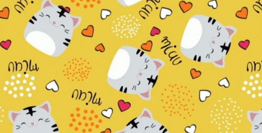 Ninho Baby - Gatinho Amarelo