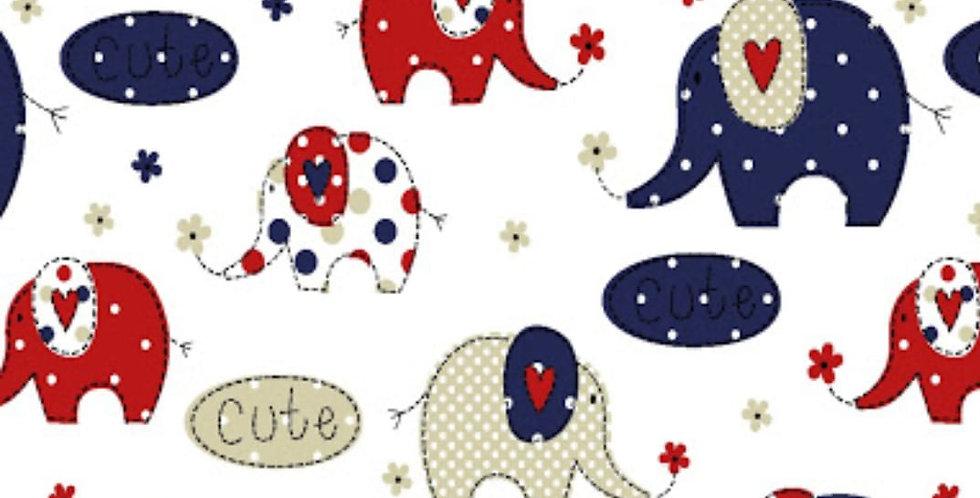 Ninho Baby - Elefante Marinho e Vermelho
