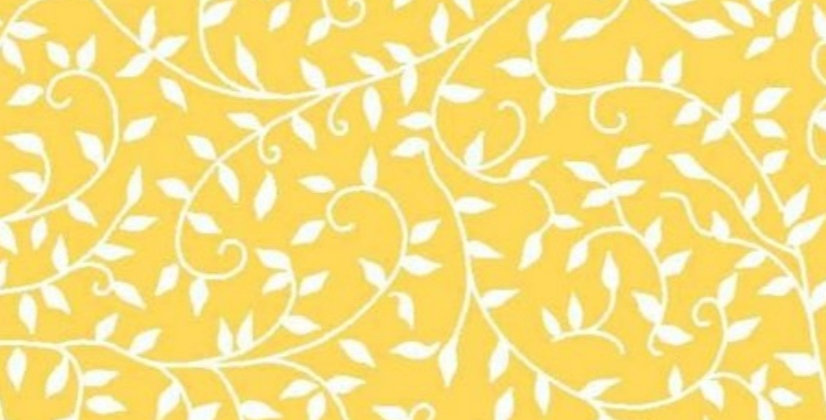 Lençol - Ramos Amarelo