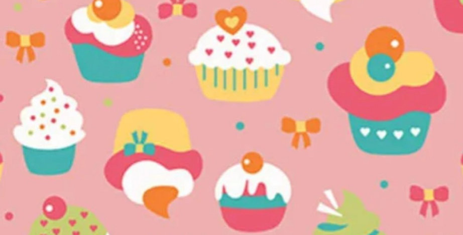Lençol - Cupcake Rosa