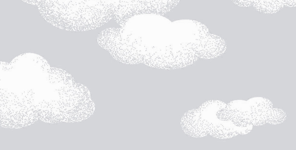 Lençol - Nuvem Cinza