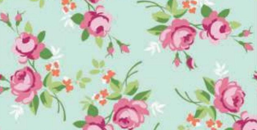 Lençol - Floral Verde