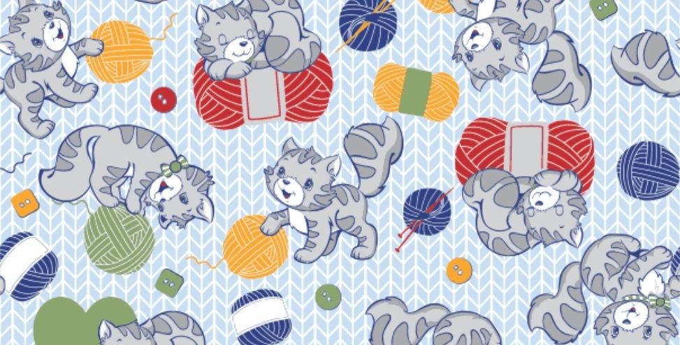 Ninho Baby - Gatinho Azul