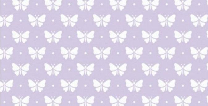 Lençol - Borboletinha Lilás