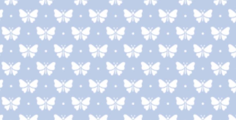 Lençol - Borboletinha Azul