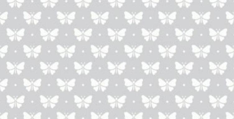 Lençol - Borboletinha Cinza