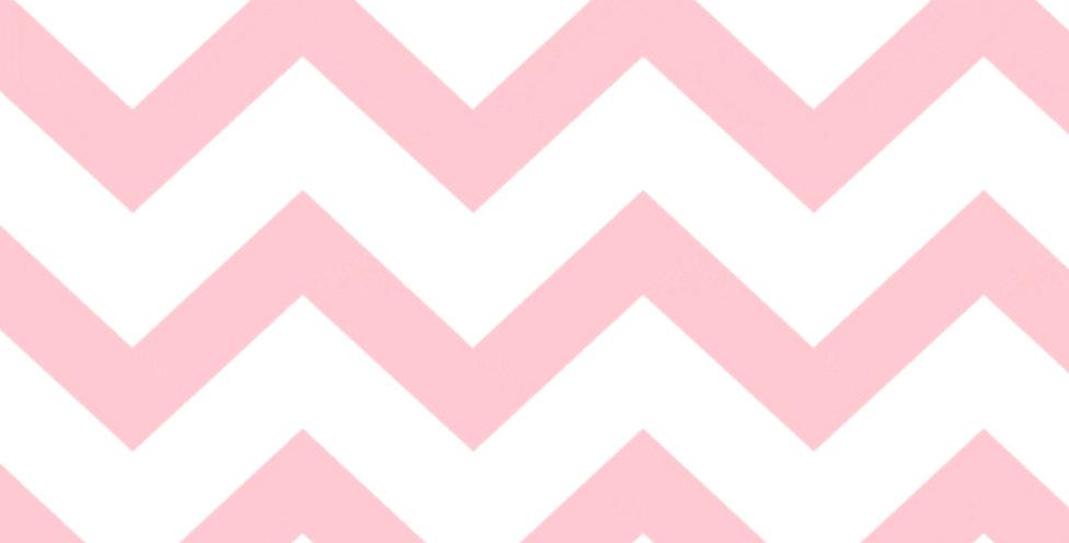 Lençol - Chevron Rosa
