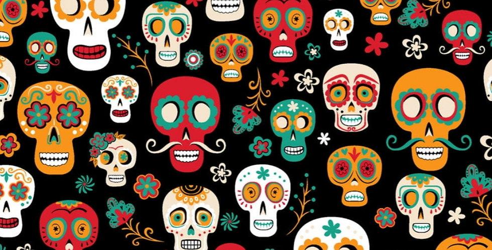 Lençol - Caveira Mexicana