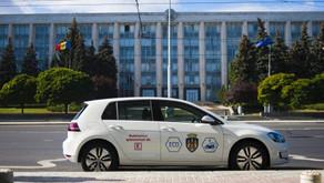 Prima mașină electrică la Primăria Chișinău