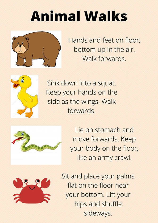 Fun exercises to do at home! - Occupational Therapy