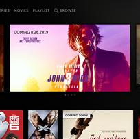 TV: Coming Soon Homepage