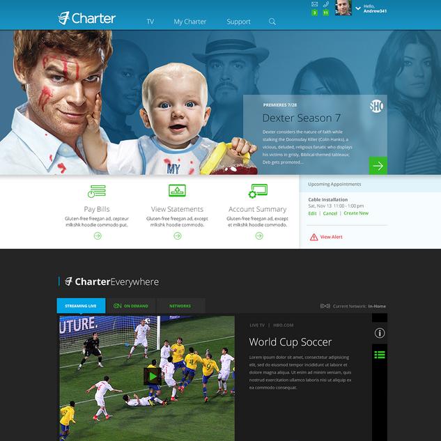 Spectrum Homepage