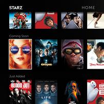 TV: Coming Soon Homepage Scrolled