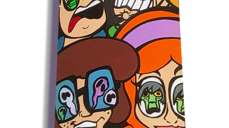 ScoobyDoo Meddling Kids Skateboard