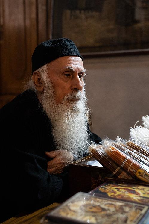 Prêtre Orthodoxe - Eglise de la Nativité - Bethléem