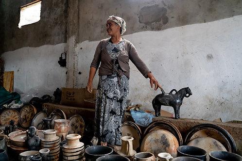 Atelier de poterie - Sajnan