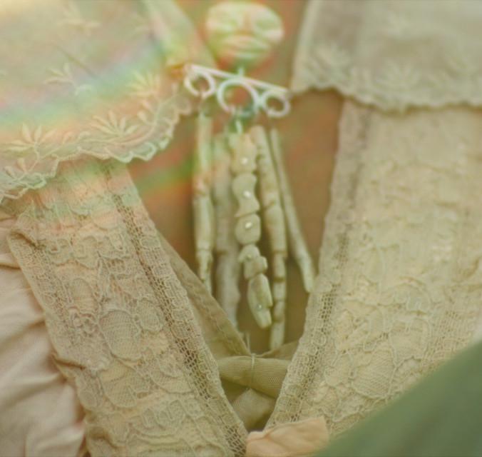 Troll doll brooch collar 2008