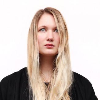 Warchild necklace on Sara Löfwander 2014