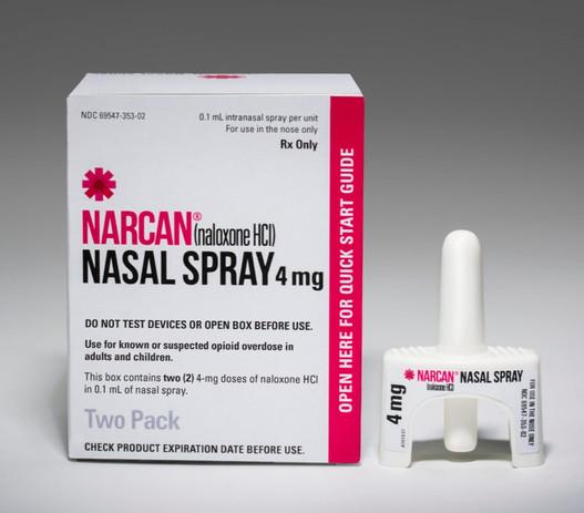 Narcan Nasal Spray for opioid overdose prevention