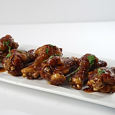 Peach Chipotle Wings