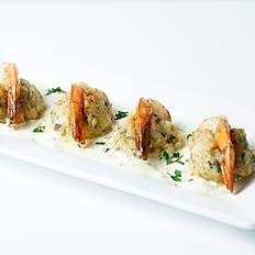 Crab Stuffed Prawns