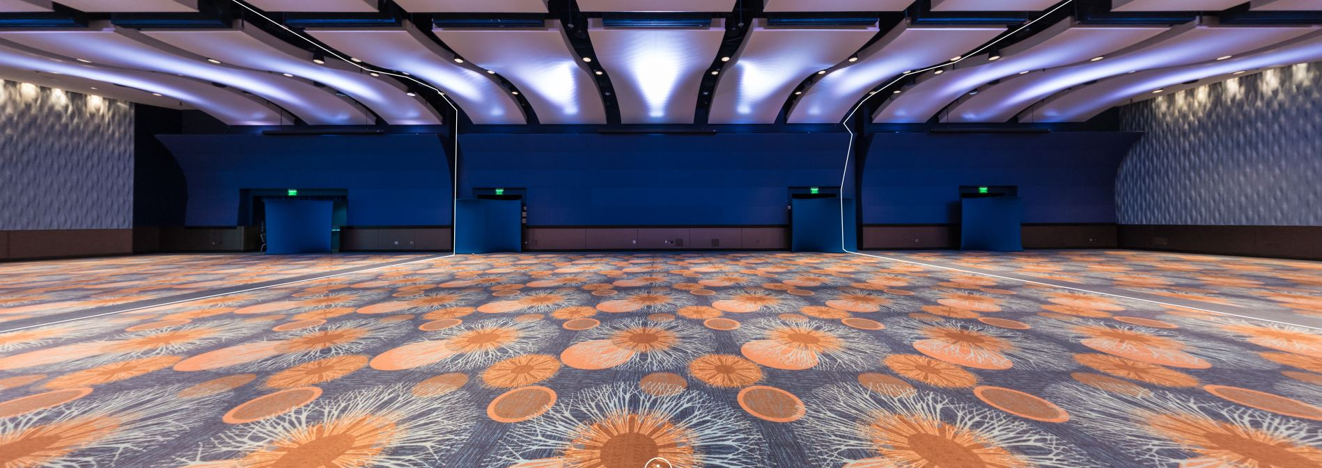 GA Aquarium Oceans Ballroom Before