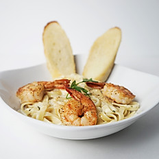 Lunch Shrimp Alfredo