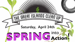 Spring Great Islands Clean Up Event
