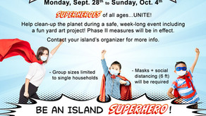 Fall Great Islands Clean Up!