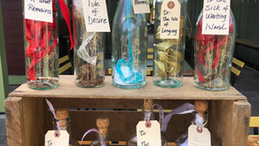 Messages in a Bottle Poetry & Wine Tasting Event at Vitas