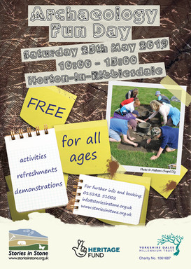 Archaeology Fun Day Poster