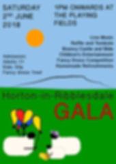 Gala Poster 2018