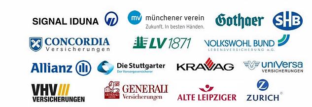 Kravag, Münchener Verein, SHB, Signal Iduna, LV1871, Alte Leipziger
