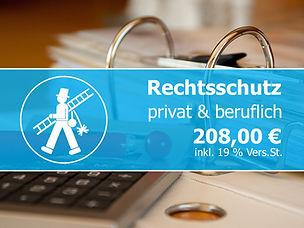Rechtschutz gür Existenzgründer, Schornsteinfeger Versicherungen bei Gründung