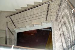 Redes de Proteção em Escadas