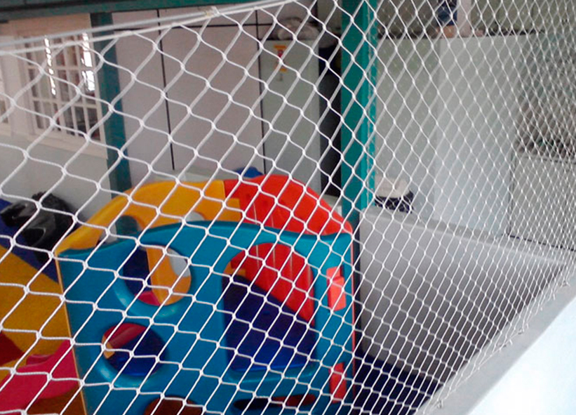 Rede de Proteção para Brinquedos