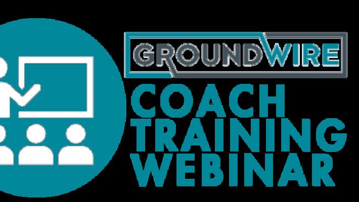 Groundwire Training Webinar