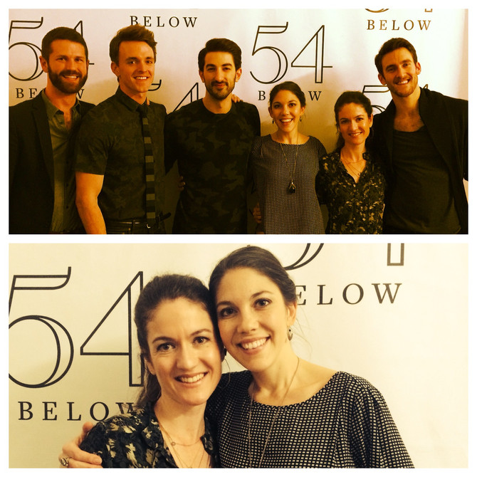 A & J at 54 Below with #SpideyBoys
