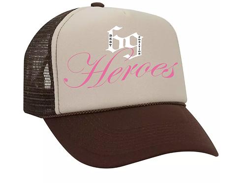 69 Heroes Trucker Brown & Beige
