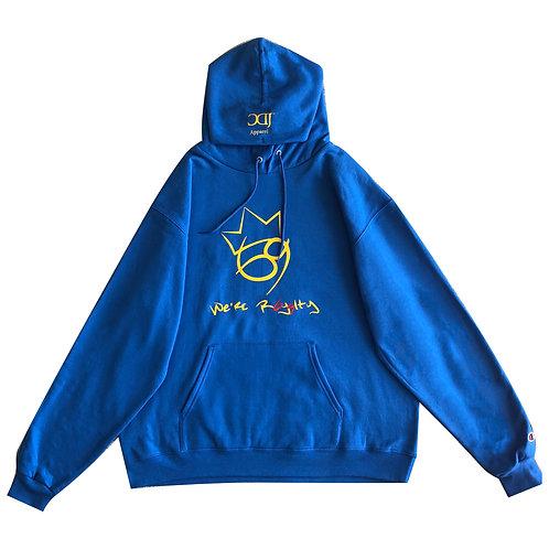 Blue 69 Crown Hoodie