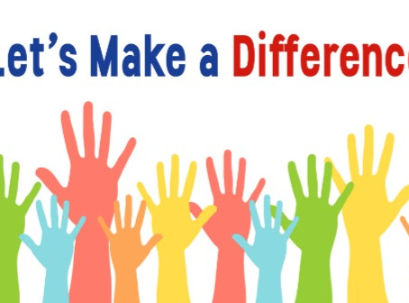 Four Ways to Make a Difference Today