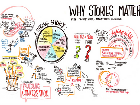Sharing Our Stories Matter