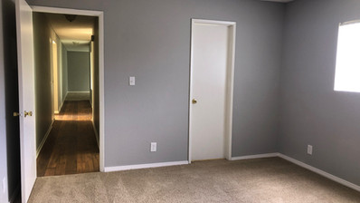 1+1 Downstairs Unit - 1025 sq.ft Bedroom
