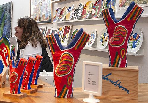Bengt Lindström, skulptur Y:et, original, Bengt Lindström Art Shop
