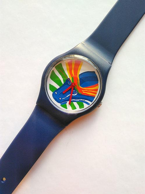 Bengt Lindström design, armbandsur Älgen, Collection 1997, samlarobjekt