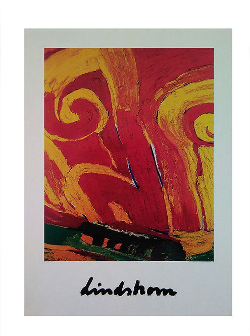 "Konstkort 5 st, A6, motiv ""Balder"", 1983"