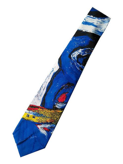 Slips Bengt Lindström design, Collection Kavli, färg blå, vit, gul, röd, svart