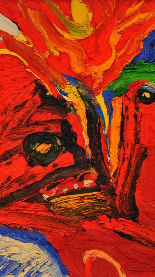 """Bengt Lindström, """"Red Magic"""", 1995"""
