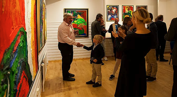 Vernissage Storsjö kapell
